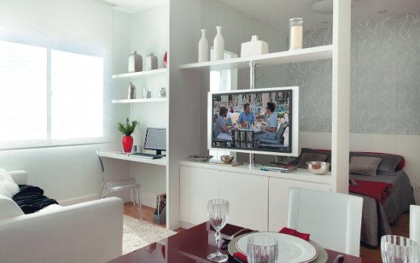 Tamanho Ideal De Tv Para Sala Pequena ~ Quer dividir ou integrar um ambiente?  Lopes Local Imóveis