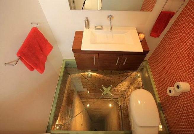Banheiro sobre po o de elevador a 15 andares de altura lopes local im veis not cias - Como rejuvenecer un piso antiguo ...