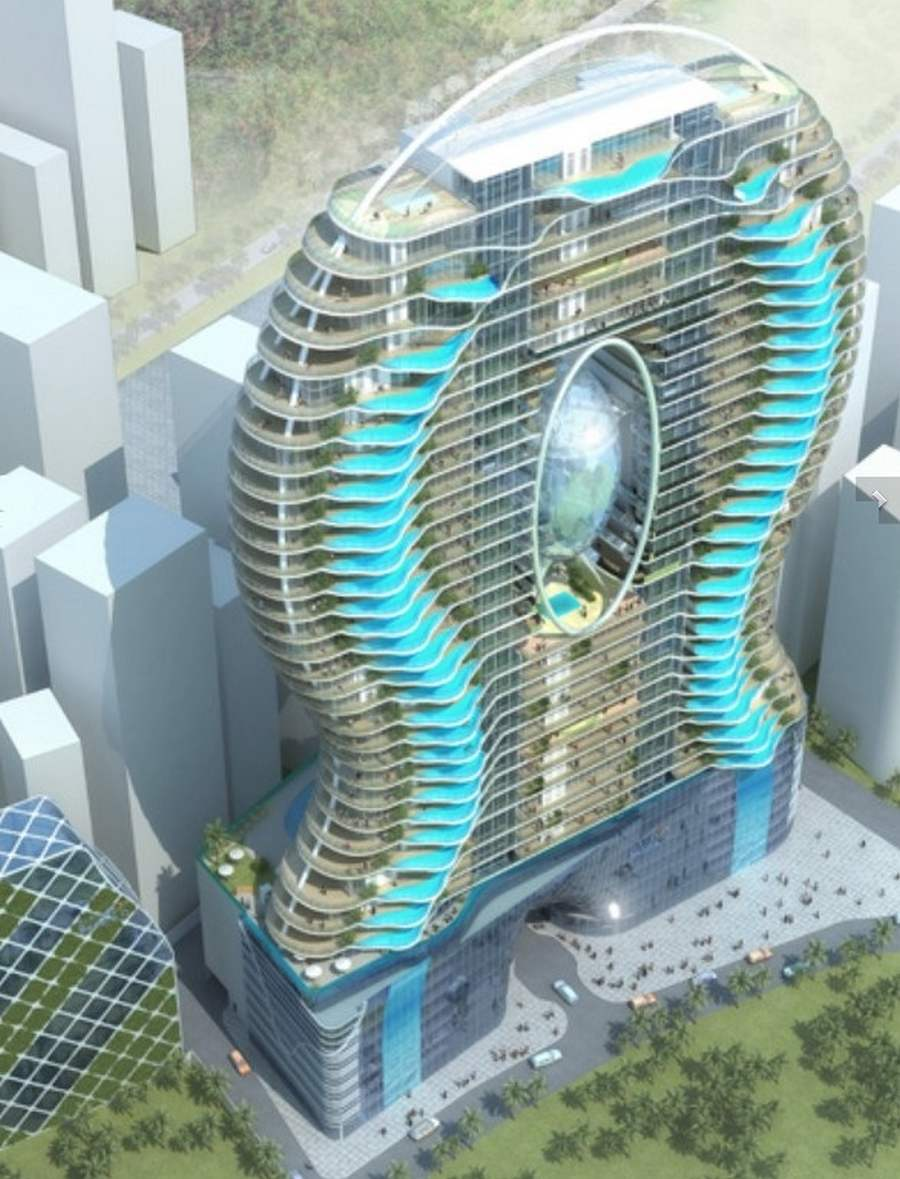 World's most amazing architecture apartments with swimming p.